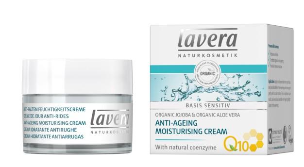 natuurlijke biologische dagcréme met q10 voor gevoelige huid