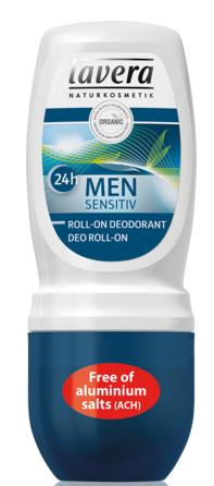 Deodorant roller biologisch voor mannen